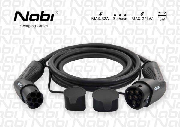 EV kabel, Nabíjecí kabel